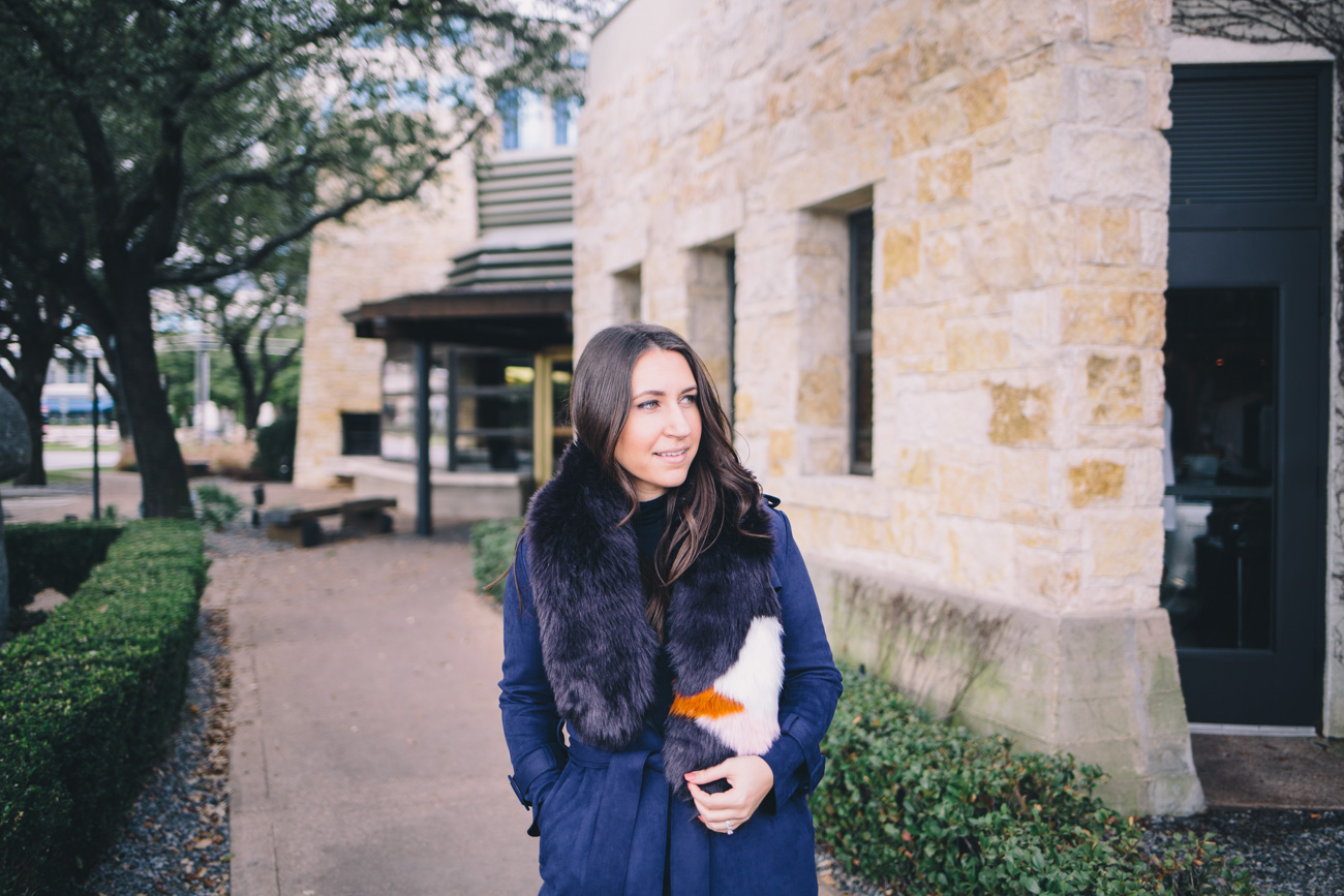 The Faux Fur Stole - Waketon Road Blog
