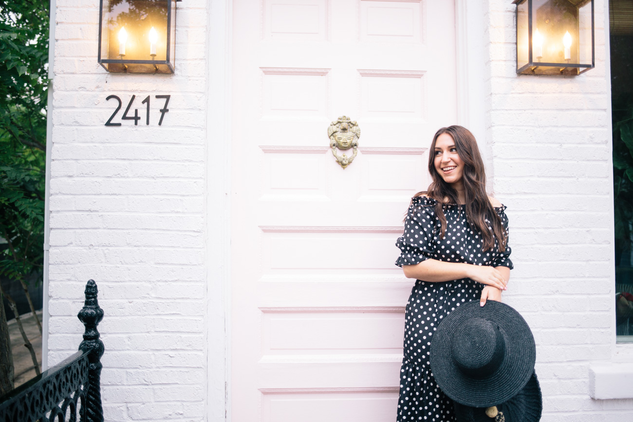 The Loveliest Polka Dots on Waketon Road