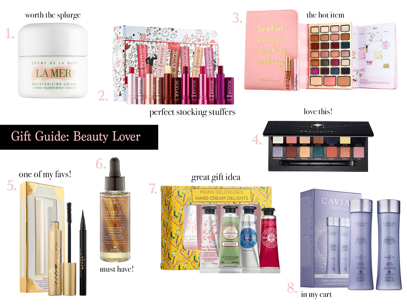 Gift Guide: Beauty Lover