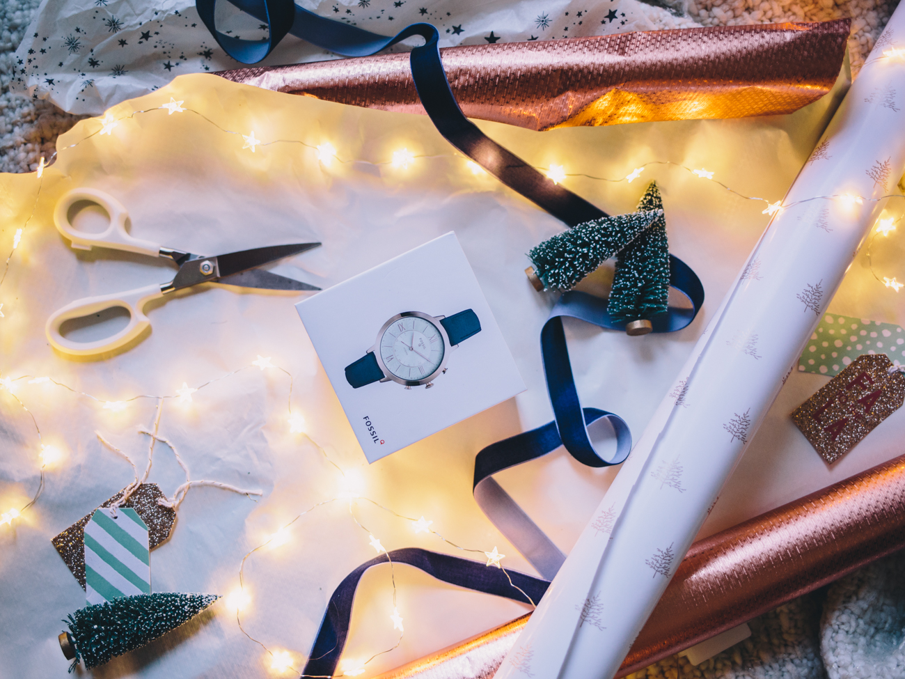 Last Minute Gift Ideas - Fossil Q Watch