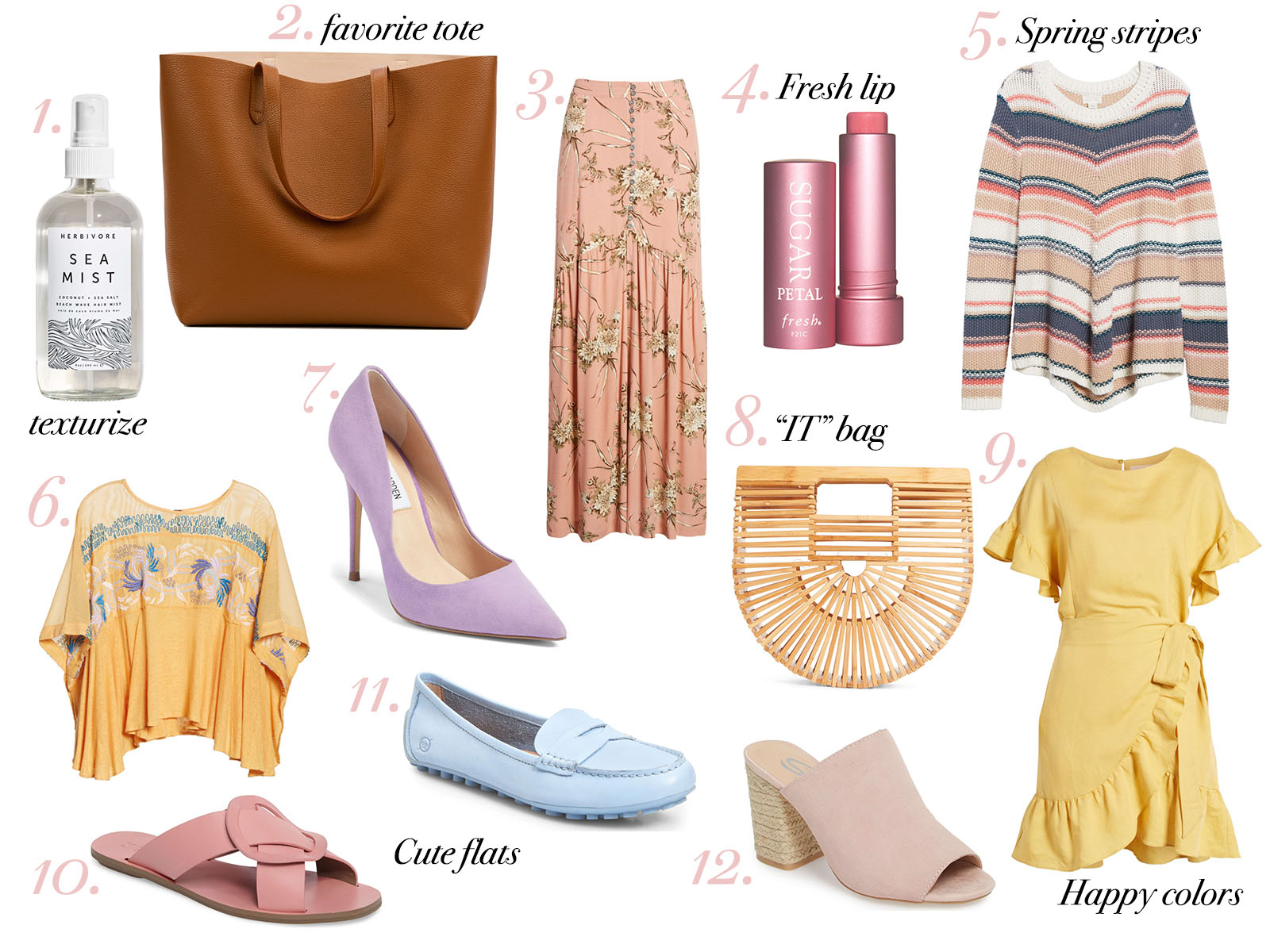 Spring Favorites - Waketon Road Blog